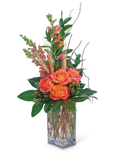 Captivating Coral from The Colony House, your florist in Shreveport, LA