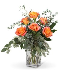 Free Spirit Roses (6) from The Colony House, your florist in Shreveport, LA