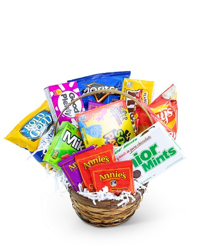 Sugar Rush Basket from The Colony House, your florist in Shreveport, LA