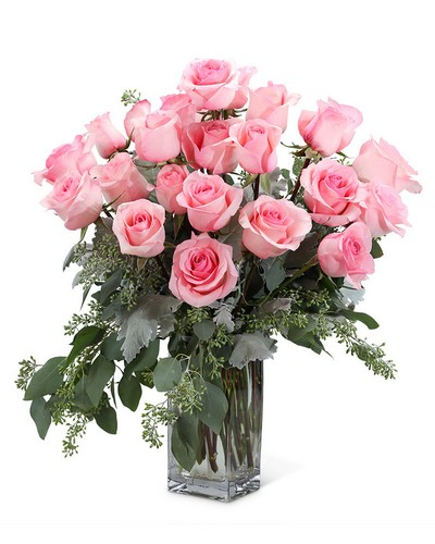 Pink Roses (24) from The Colony House, your florist in Shreveport, LA
