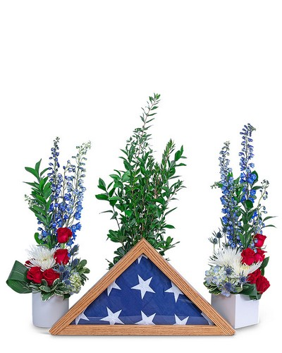 Freedom Tribute from The Colony House, your florist in Shreveport, LA