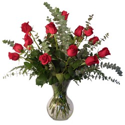 Stylish Dozen Roses from The Colony House, your florist in Shreveport, LA