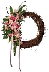 Grapevine Rememberance Wreath from The Colony House, your florist in Shreveport, LA