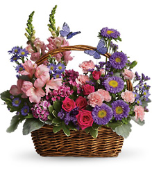 Country Basket Blooms from The Colony House, your florist in Shreveport, LA