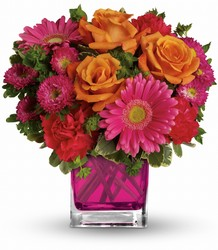 Teleflora's Turn Up The Pink Bouquet from The Colony House, your florist in Shreveport, LA