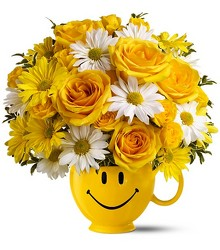 Be Happy Bouquet from The Colony House, your florist in Shreveport, LA
